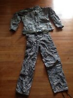 U.S. GI camo jacket and pants