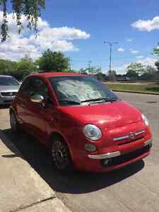 2012 Fiat 500c Lounge Convertible