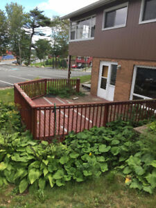 Deck in good condition