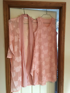Beautiful summer dress with matching jacket!  New, never worn
