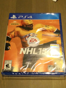 NHL 19 - new and unopened - PS4