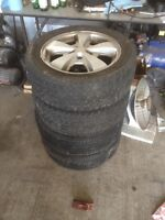 Z24 rims with tires cavalier  bolt pattern 5x100 mm