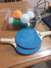 Mini ping pong set