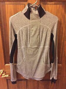 Lululemon grey/black sweater  Peterborough Peterborough Area image 1