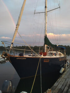 1983 CORBIN 39 $70,000 BUY or TRADE for smaller sailboat