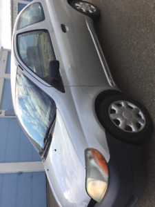 2001 Toyota Echo Coupe (2 door)great condition mainly highway