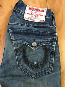 100% Authentic true religion jeans for 80$