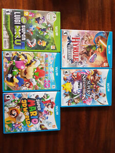 Assorted Wii U Games