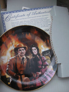 Vintage Gone With The Wind Collectible Plates Prince George British Columbia image 7