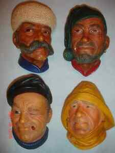 """""""BOSSONS"""" Character Heads."""