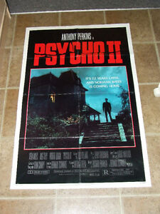 Original Psycho II Movie Poster - $15.00