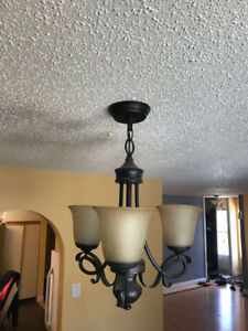 3 piece chandeliers for sale