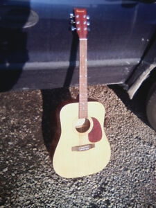 Burswood Solid Top Acoustic Guitar