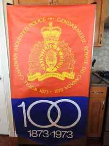 RCMP Centennial Poster collectable - Mint condition