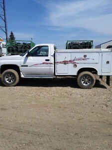 2002 Dodge Power Ram 2500 Service Body Truck