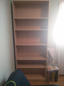 Moving sale: bookcases