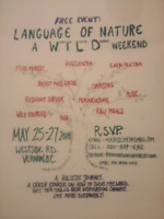 Language of Nature a Wild Weekend Free Event!!!