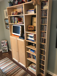 Wall Unit, Book Case and CD Tower