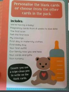 Bump to Baby Pregnancy Photo Card Book