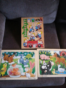 Puzzles, games, educational toys