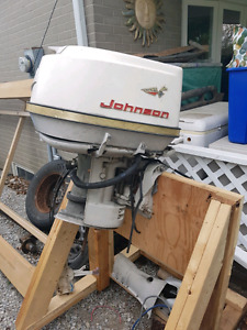 Johnson 75hp outboard motor