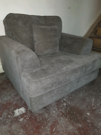 Single arm chair with matching cushion.... £105