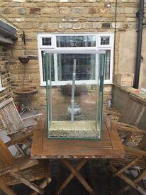 Fish Tank Aquarium Leeds Wakefield Large 80 litre with undergravel filter
