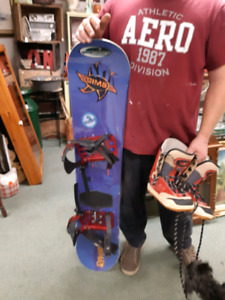 Sim's Snowboard and Boots