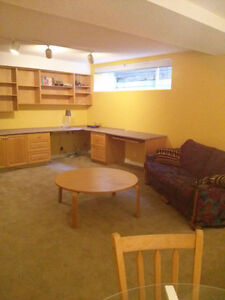 Short term rental for basement suite