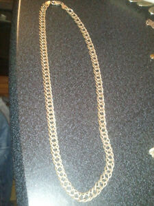 silver 925 chain from italy 22 inches long