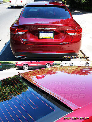 2015 2017 ALL COLOR PAINTED CHRYSLER 200 200C WINDOW K STYLE ROOF SPOILER WING