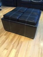 9 piece removable storage ottoman