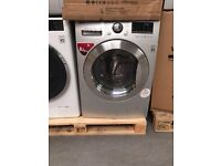 PRP £529.99 LG BRAND NEW WASHING MACHINES SILVER COMES WITH A STORE WARRANTY