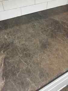 4x8 sheet Wilsonart laminate Chocolate Brown Granite