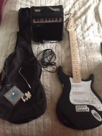 Lindo electric guitar and amp Need gone offers welcome £65 Ono