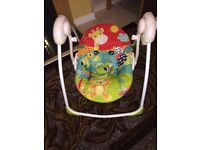 Baby safari swing