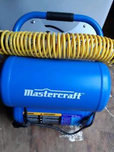Mastercraft Compressor with Accessories