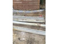 5x gravel boards and 2x 6ft fence posts