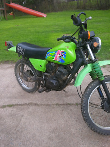 Kawasaki ke 100 for sale or tade