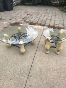 VERY ELEGANT 2 PIECE TABLE SET FOR SALE!!!!!