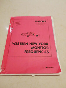 Hirsch's Western New York Monitor Frequencies & KW Police Codes