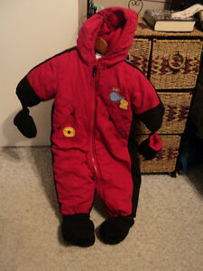 ADORABLE SNOW SUIT FROM SEARS