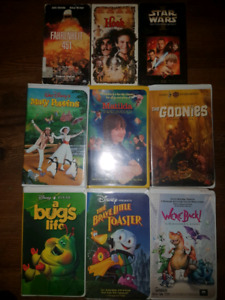 Assorted Classic VHS Tapes
