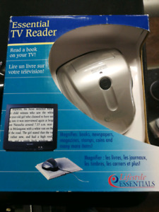 ksq buy&sell essential tv reader turns tv into a visual aid