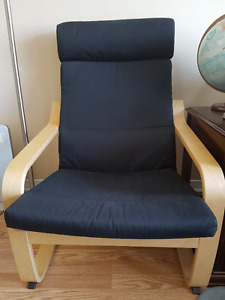 Ikea Poang Chair MINIMAL Use, taking up space.