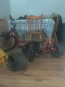 Drift trike go kart for sale asking 120