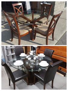 2 Dining Room Tables Chairs