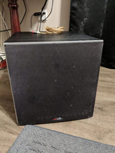Subwoofer and tower speakers