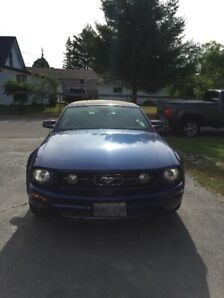 2007 Ford Mustang Pony Convertible