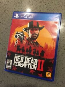Red Dead Redemption 2 for Sony PS4 - Like New Condition